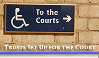Trusts set up for the courts image